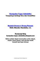 Naskah drama 5 orang pemain.pdf