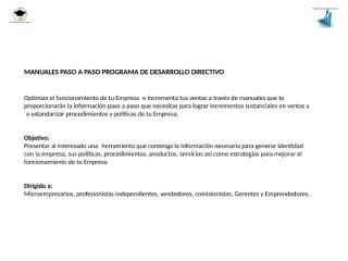 manuales paso a paso programa de desarrollo directivo.pptx