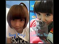 Asian celebrities ( KPOP ) look-alikes.mp4