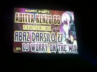 PARTY ADITYA KENZO 86 WITH ABAS DARSILO 27 BY DJ WURRY ON THE MIX.mp3
