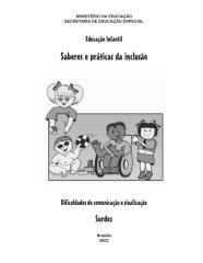 MEC -  Educação Especial - Surdez (pdf) .pdf