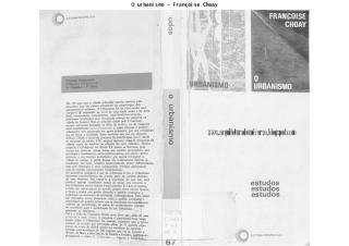 o urbanismo - françoise choay.pdf