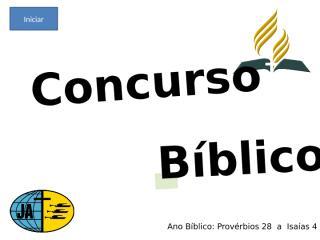 Concurso Bíblico 2010 - 015.ppt