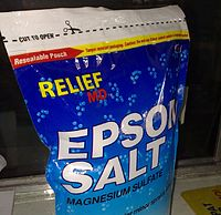 EPSOM SALT NOW IN RESEALABLE PACKS