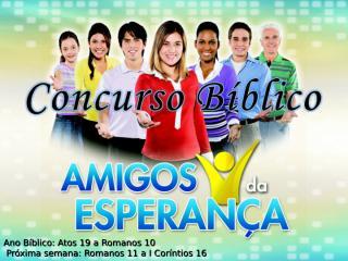 concurso bíblico 2011 - 46.ppt