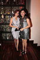 Sarrita Pimentel and Mela Franco  at Maya for Preview Mag Anniv Cebu