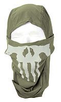 Lancer tactical ghost balaclava od green w skull d